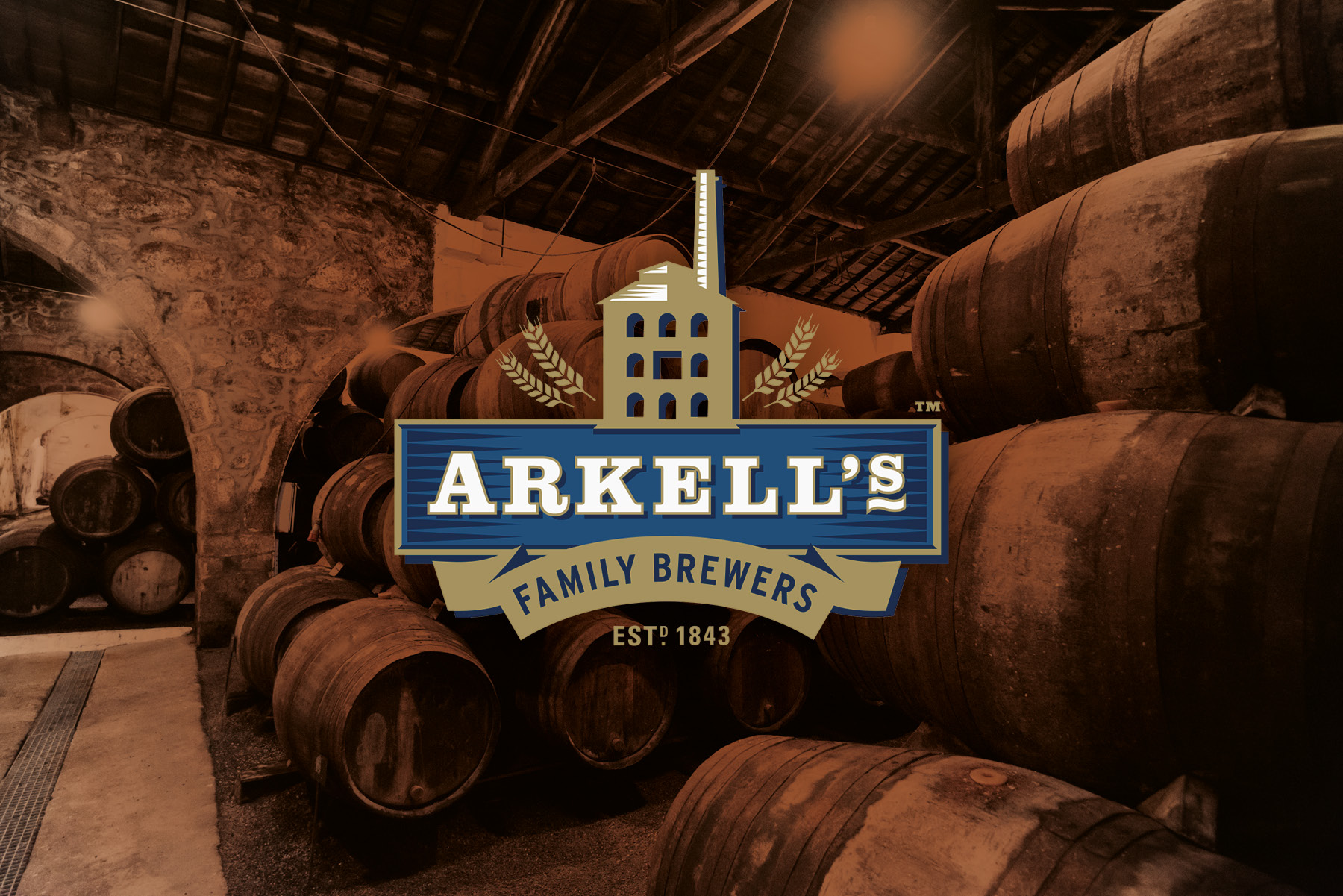arkell's brewery design page splash image