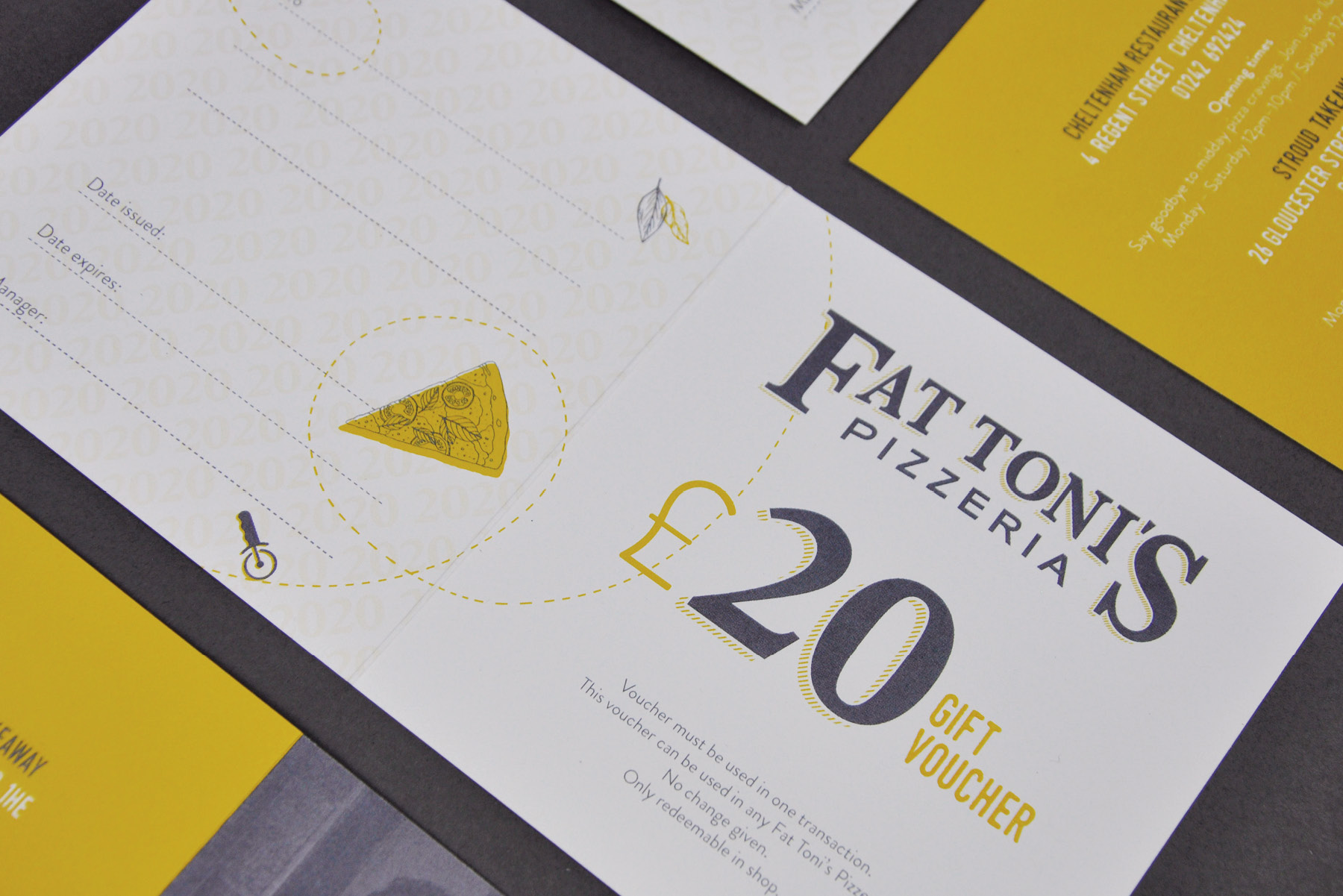 Fat Toni's Voucher Detail